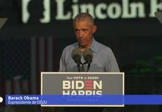 Elecciones USA: Obama llama a olvidar los sondeos y votar en masa por Biden