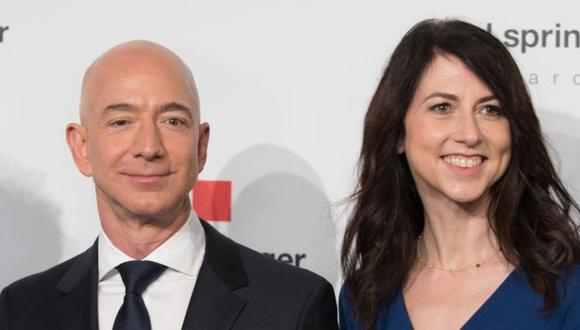 Jeff y MacKenzie Bezos estuvieron juntos por más de 25 años. (DPA vía BBC)