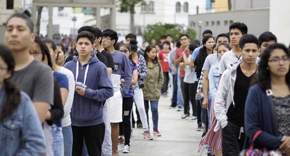 Diez jóvenes (entre 19 y 29 años) preguntan sobre los temas actuales que más preocupación les causa. (Foto: GEC)