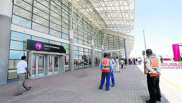Actualmente no hay vuelos nacionales e internacionales a través del aeropuerto de Pisco en perjuicio de los turistas y ejecutivos. (Foto: Difusión)