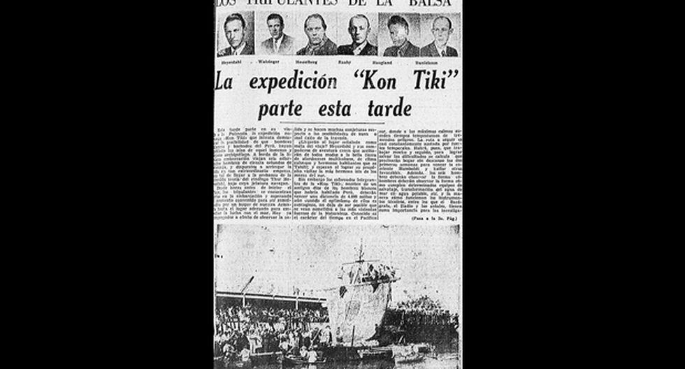 'Kon Tiki': la balsa que cruzó el Pacífico - 1