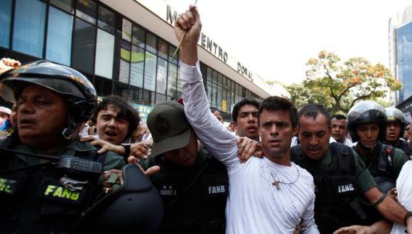 Venezuela: Tribunal rechaza pedido para liberar a López