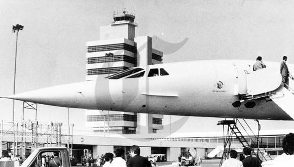 El día que el avión más rápido del mundo visitó Lima