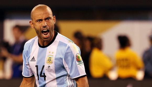 Javier Mascherano fue capitán de la selección argentina. (Foto: EFE)