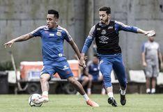 Christian Cueva se integró a los entrenamientos del Santos junto a los futbolistas apartados
