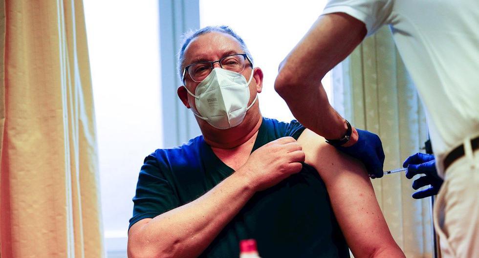 Coronavirus en Alemania | Últimas noticias | Último minuto: reporte de infectados y muertos hoy, viernes 12 de marzo de 2021 | COVID-19. (Foto: EFE/EPA POOL/FILIP SINGER).