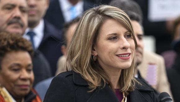 Katie Hill reconoció haber mantenido una relación con una miembro de su campaña electoral, pero no con un asistente del Congreso. (EPA).