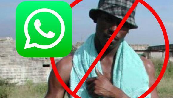 """¿Sabes por qué nunca más debes enviar la foto del """"negro de WhatsApp""""? (Foto: Elmundo.es)"""