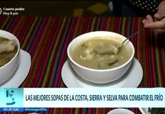 Las mejores sopas del Perú