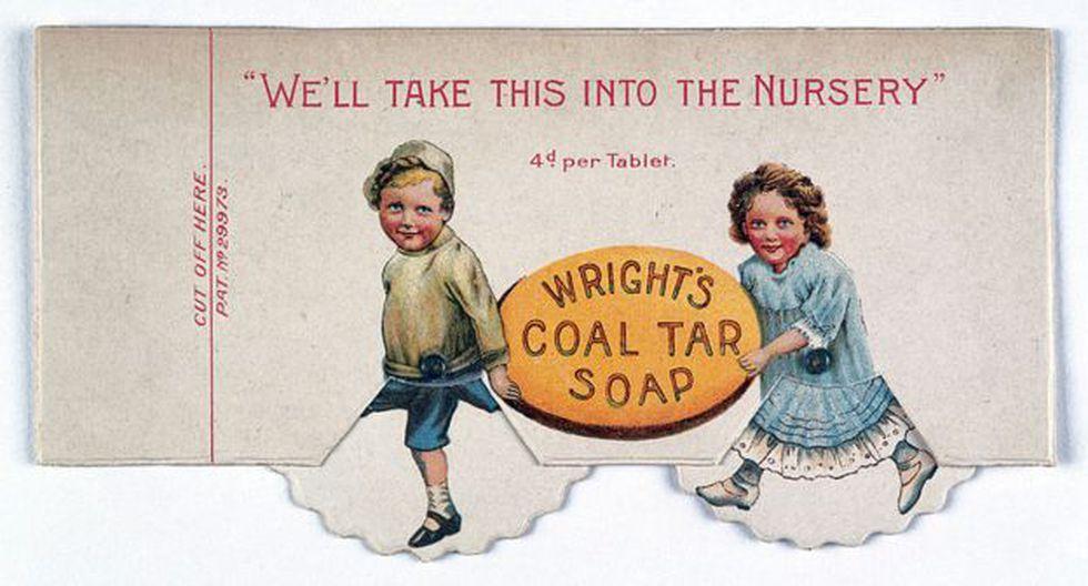 El jabón de alquitrán era recomendado para los niños pues protegía de infecciones. (Foto: Wellcome Collection)