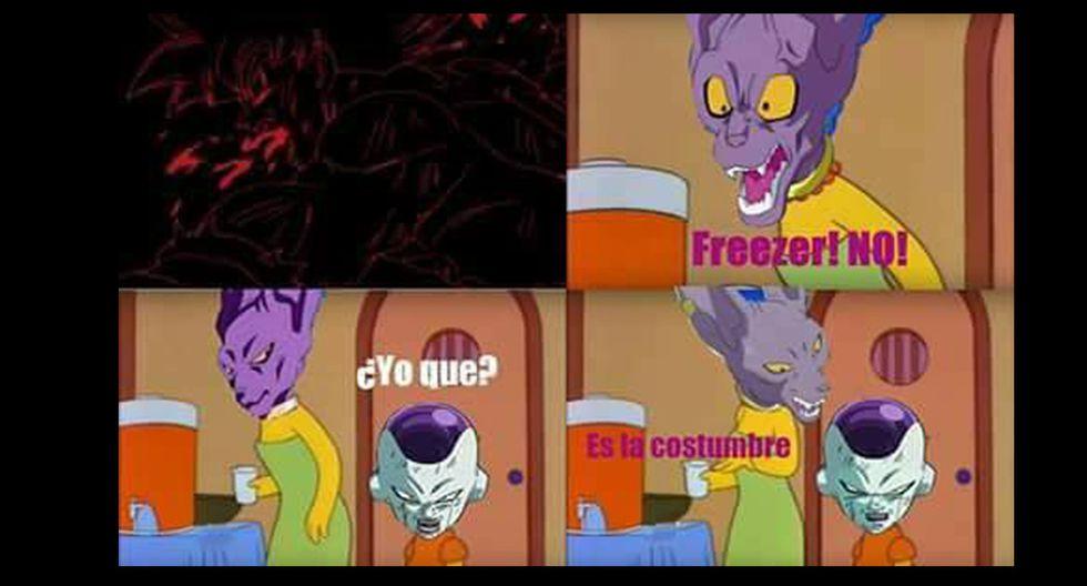 """Memes de """"Dragon Ball Super"""" - Episodio 130. (Fuente: Facebook)"""