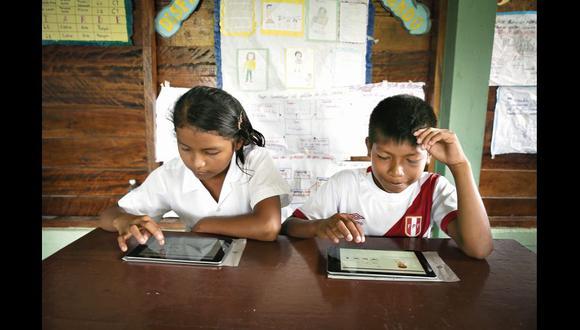 Niñas y niños de la comunidad awajún tendrán acceso a las herramientas y aplicaciones especializadas en mejorar su educación.
