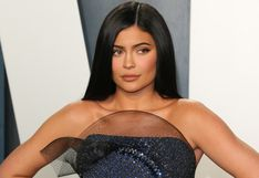 """Kylie Jenner sobre el vestido que lució en el after party del Oscar: """"No podía sentarme"""""""