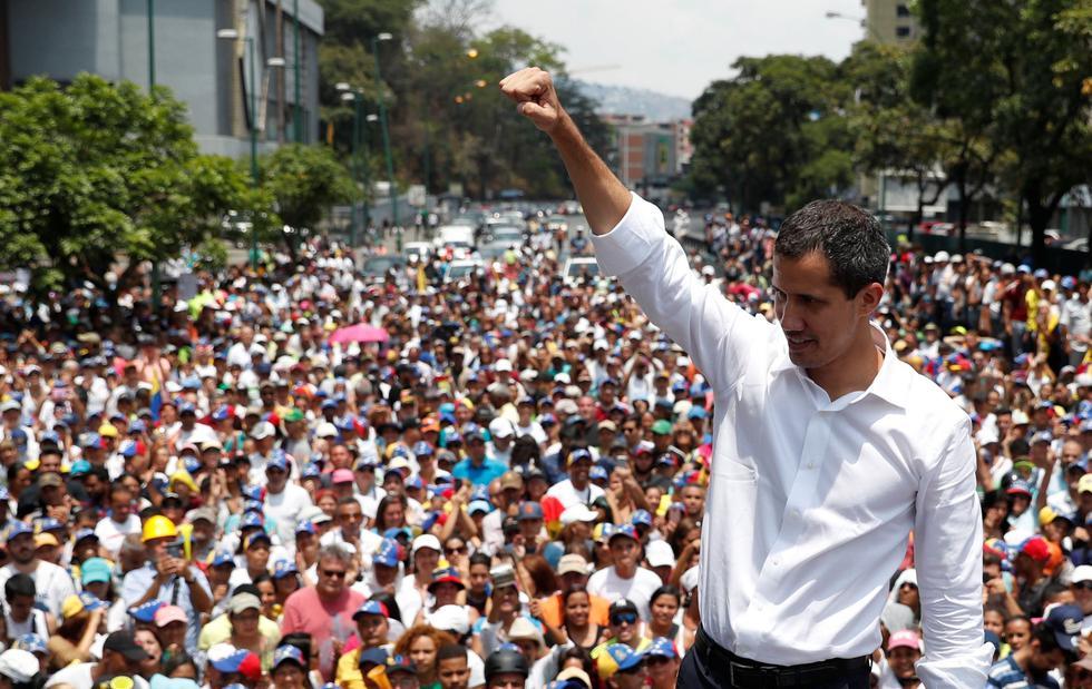 Venezuela: Juan Guaidó reaparece y llama al paro en la administración pública | Nicolás Maduro. (Reuters).