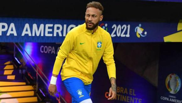 El post de Neymar en la víspera del Argentina vs. Brasil. (Foto: AFP)