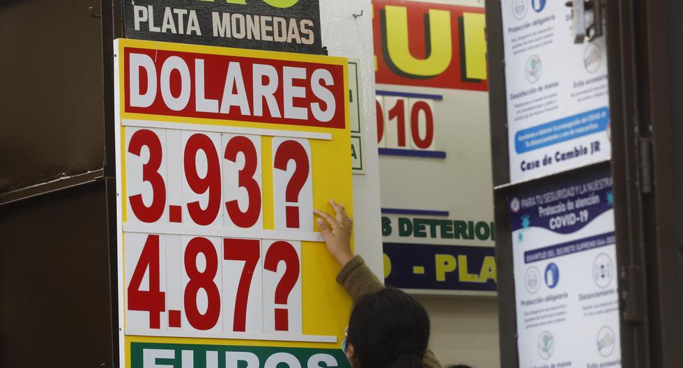 'Stock' de US$. Además de los dólares propios que tiene el BCR (US$60.000 mlls.), se cuentan con reservas internacionales por US$70.000 mlls. y la línea de crédito flexible del FMI (US$11.000 mlls.) ante cualquier contingencia. (Foto: Eduardo Cavero/GEC)