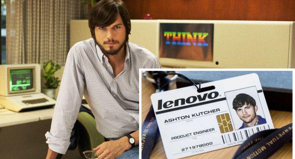 Ashton Kutcher: de Steve Jobs en el cine a ingeniero en Lenovo