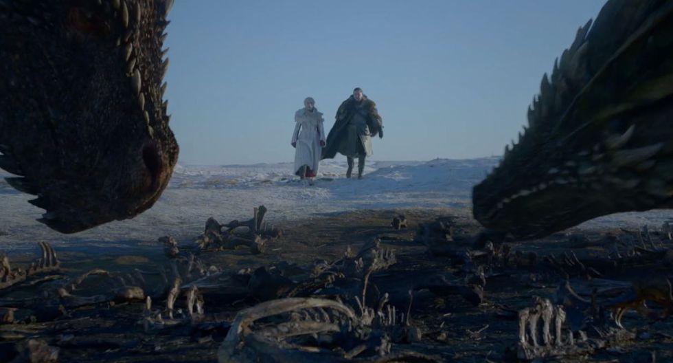 "Emilia Clarke interpreta a Daenerys Targaryen en la serie de HBO  ""Game of Thrones"". (Foto: HBO)"