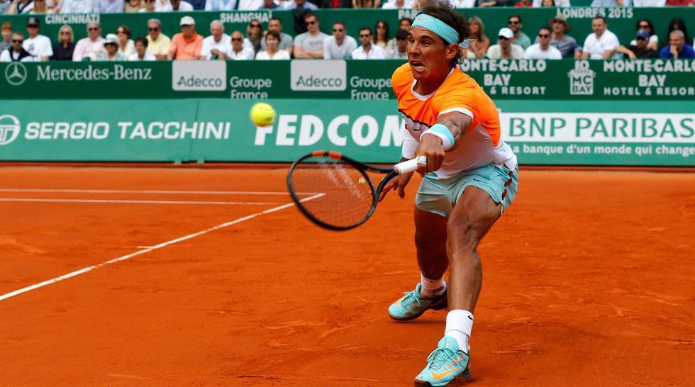 Djokovic venció a Nadal: las imágenes del duelo en Montecarlo - 6