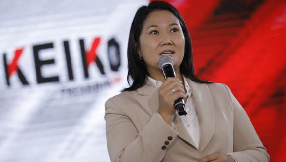 """Fujimori Higuchi calificó de """"muy extraño"""" que el Jurado Nacional de Elecciones haya reculado en su decisión inicial, de ampliar el plazo de presentación de solicitudes para anular mesas de sufragio. (Foto: Joel Alonzo / @photo.gec / referencial)"""