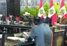 Actas revelan la falta de liderazgo de Pedro Castillo: ¿Cómo es la dinámica en un Consejo de Ministros?