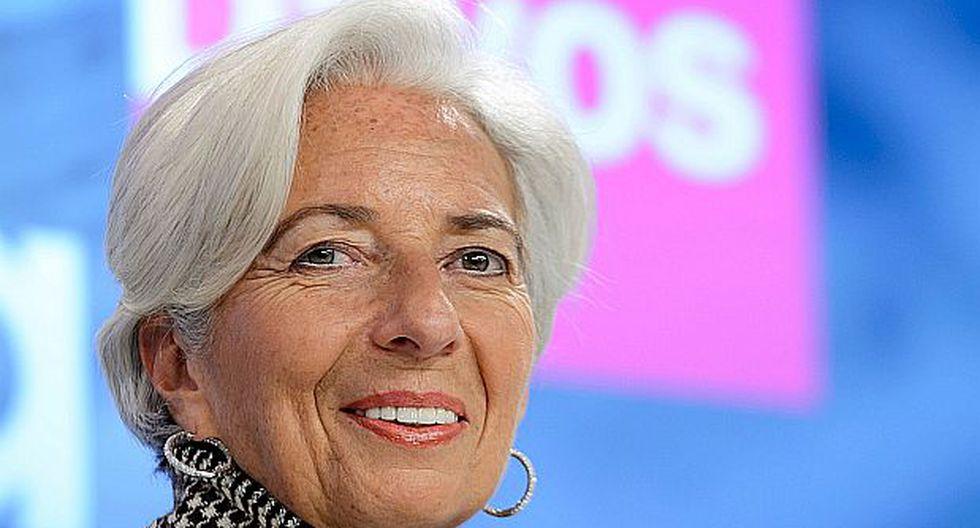 Lagarde postulará a un segundo mandato al frente del FMI