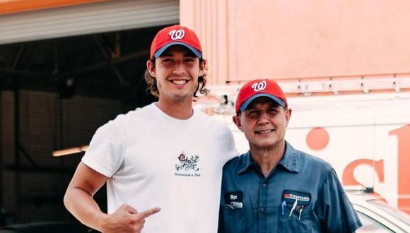 Robert Anthony Cruz sorprendió a su padre con su primer contrato en las grandes ligas de béisbol. (Foto: Instagram)