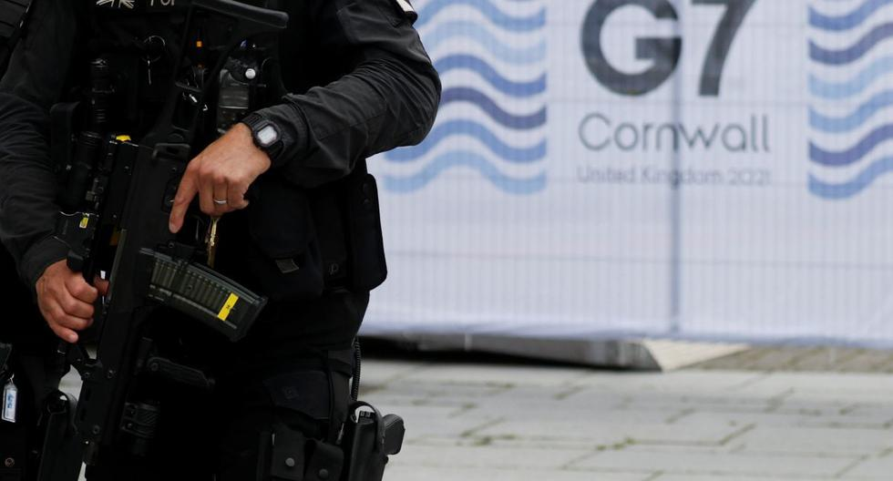 G7: Seven people arrested for carrying a