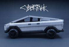 El Tesla Cybertruck a un paso de convertirse en set de Lego   FOTOS