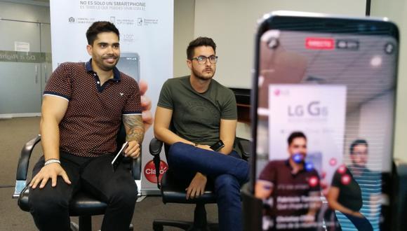 Carlos Santa Engracia y Jaume Lahoz aseguran que en no hay formulas para el éxito en Internet. (Foto: El Comercio)