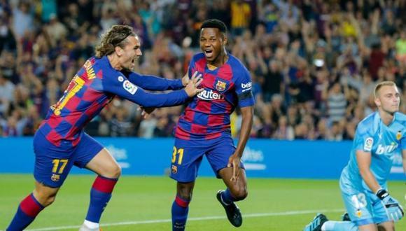 Antoine Griezmann denunció racismo contra su compañero en Barcelona.