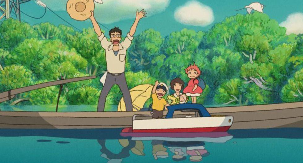 """""""Ponyo en el acantilado"""". (Foto: Studio Ghibli)"""