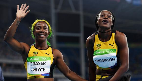 Atletas jamaiquinas lideran el ránking femenino de los 100 metros de este año. (Foto: Lima 2019)