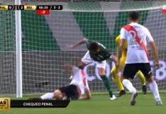River Plate vs. Palmeiras: el reclamo del 'Millonario' por supuesto penal a Borré e intervención del VAR | VIDEO