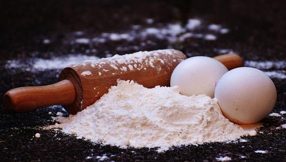 La harina es la clave para preparar deliciosos queques, panes, postres, entre otras tradicionales recetas. (Foto: Pixabay)