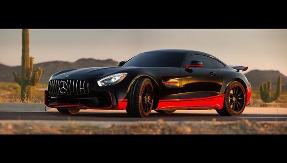 El Mercedes-Benz AMG GT R lleva un motor V8 de 4,0 litros y 585 HP. (Fotos: Difusión)