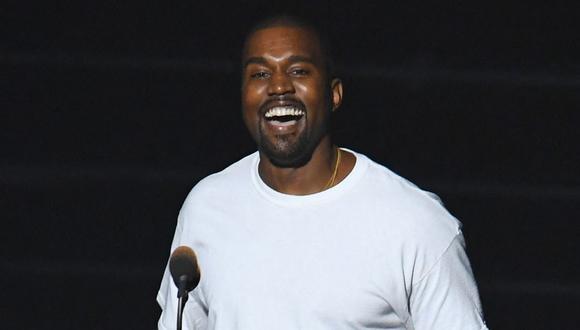 Kanye West quiere cambiar su nombre y presentó pedido a la corte para hacerlo. (Foto: AFP)