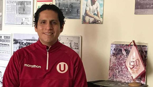 """Juan Carlos Chávez, editor y compilador de """"Crema, mi gran amigo 2"""", contó varios detalles del libro dedicado a Universitario de Deportes. (Foto: GEC)"""