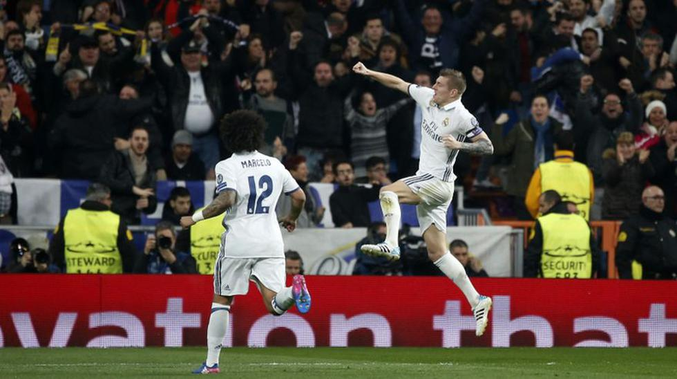 Fiesta blanca: postales de la goleada del Madrid en Champions - 16