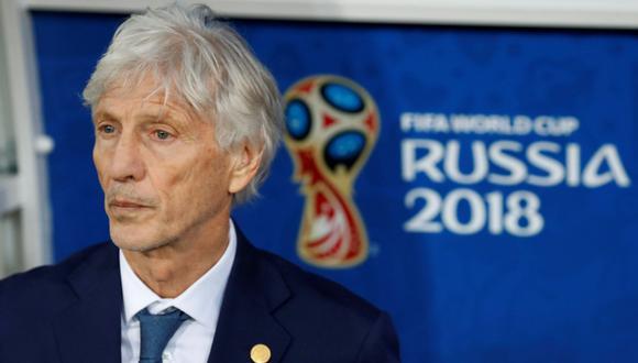 ¡Pekerman no renovó con Colombia! (Foto: AFP)