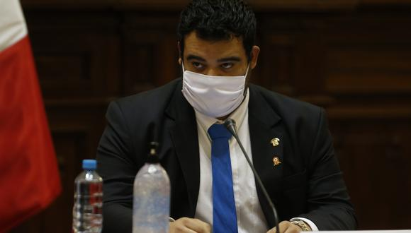 El congresista Aliaga no será indagado preliminarmente por la Comisión de Ética. (FOTO: MARIO ZAPATA NIETO / GEC)