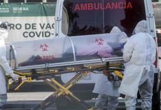México registra 349 muertes y 3.308 casos de coronavirus en un día