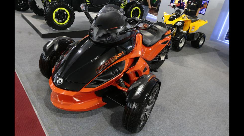 Motorshow: La trimoto Can-Am Roadster Spyder  - 1
