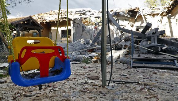 Israel acusa a Hamas del disparo de cohete y a Tel Aviv y envía refuerzos a franja de Gaza. (AFP).
