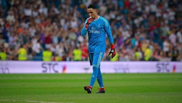 Real Madrid podría sufrir una baja sensible con la posible salida de Keylor Navas del plantel. El guardameta tendría una sería propuesta para llegar a la Premier League (Foto: agencias)