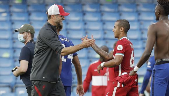 Thiago es la última adquisición del Liverpool. (Foto: Reuters)
