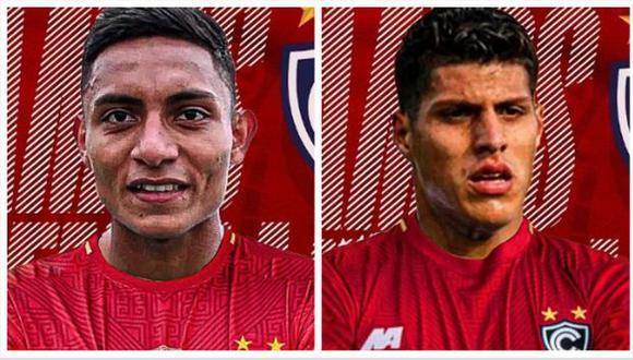 Cienciano se reforzó con Kevin Sandoval y Hansell Riojas para la temporada 2021. (Foto: Cienciano)