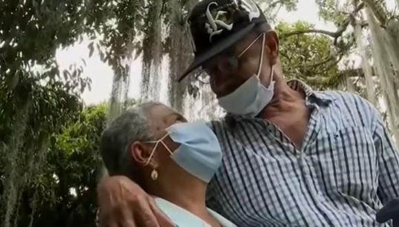 Abuelitos se casan el próximo viernes 24 de setiembre. (Foto: Captura/Noticias Caracol)