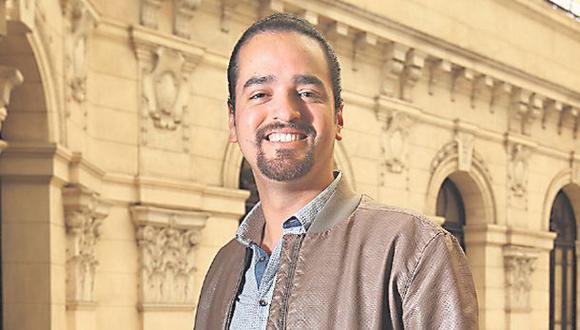 """Franco Cabrera: """"Busco que la gente se divierta"""""""