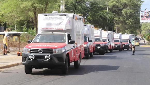 En los próximos meses se concretará la compra de otras 25 ambulancias, según el Gore Piura.